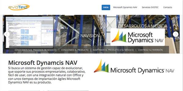 Nuevo microsite 100% dedicado a Dynamics NAV (NAVISION)