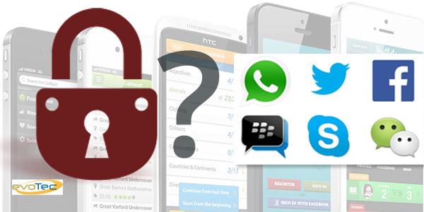 La seguridad de las aplicaciones de mensajería instantánea en entredicho