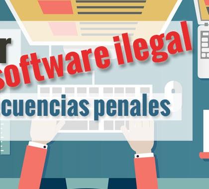 Ahora, usar software ilegal puede traer consecuencias penales