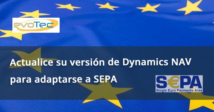 Actualice su versión de Dynamics NAV para adaptarse a SEPA