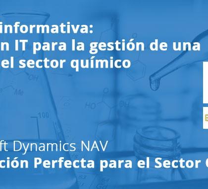 Sesión informativa: Solución IT para la gestión de una PYME del sector químico