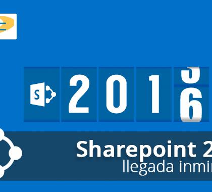 La llegada de SharePoint 2016 es inminente