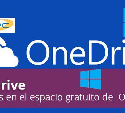 Recortes en el espacio gratuito de  OneDrive