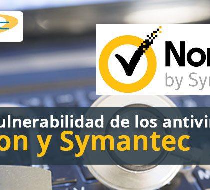 Grave vulnerabilidad de los antivirus Norton y Symantec