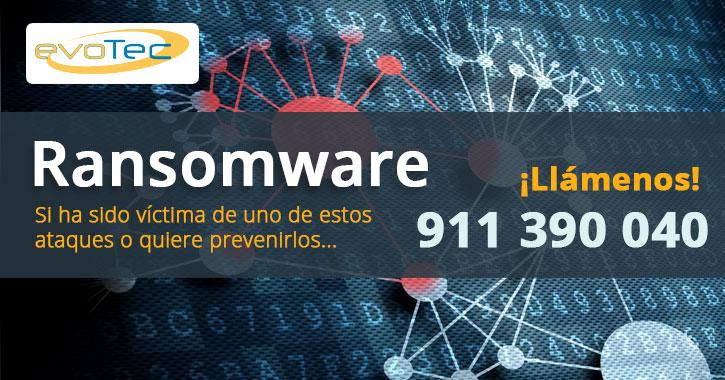 El Ransomware sigue creciendo en España