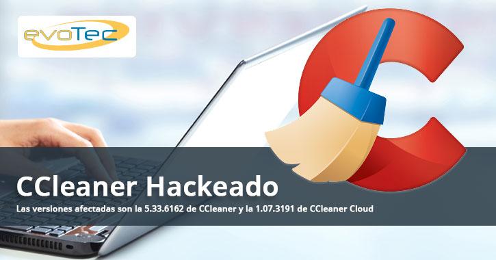 CCleaner Hackeado habilitando puerta trasera